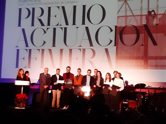 Pedro Jos� S�nchez ha sido premiado por un proyecto arquitect�nico por el Colegio de Arquitectos de la Regi�n de Murcia, Foto 3