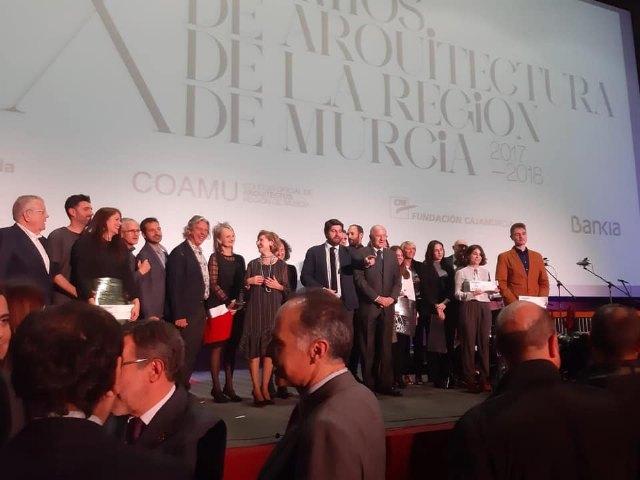 Pedro Jos� S�nchez ha sido premiado por un proyecto arquitect�nico por el Colegio de Arquitectos de la Regi�n de Murcia, Foto 4
