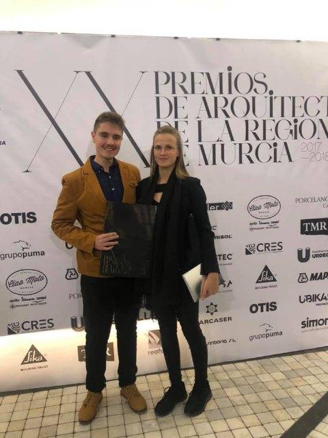 Pedro Jos� S�nchez ha sido premiado por un proyecto arquitect�nico por el Colegio de Arquitectos de la Regi�n de Murcia, Foto 5