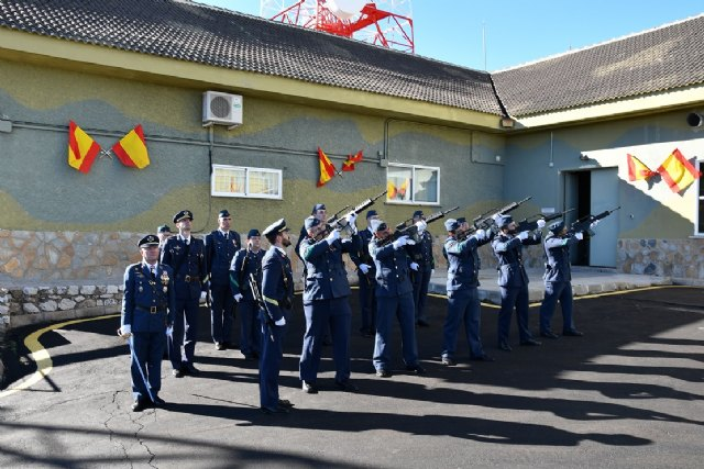 El Escuadrón de Vigilancia Aérea nº 13 celebra la Patrona del Ejército del Aire en su 25º Aniversario