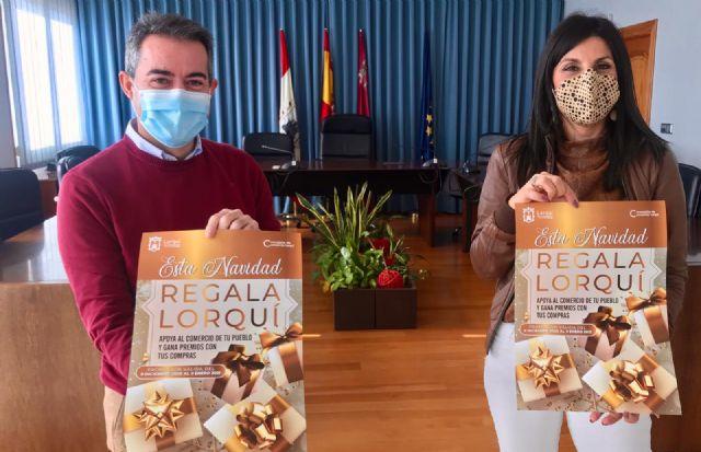 El Ayuntamiento pide el apoyo al comercio local con la campaña 'Regala Lorquí' - 1, Foto 1