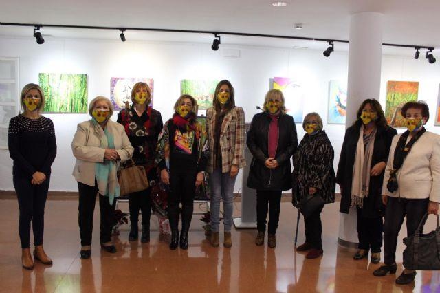 Los alumnos del taller Pint Art muestran sus trabajos en la exposición Emoción-Arte - 2, Foto 2