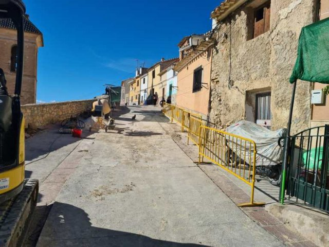 Comienzan las obras de reposición de pavimento e infraestructuras en la calle Altos de Santo Domingo - 1, Foto 1