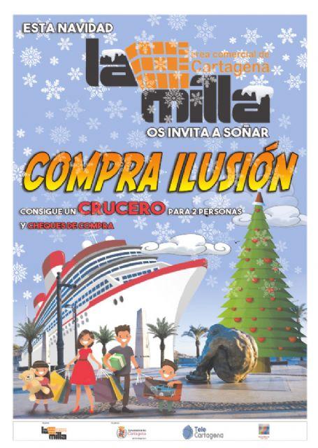 El Area Comercial La Milla sortea mañana un crucero para dos personas - 1, Foto 1