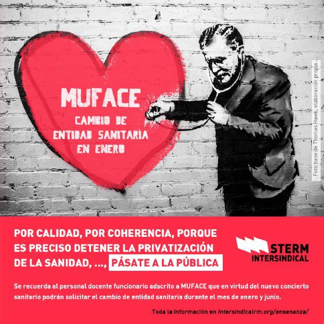 STERM-i lanza una campaña entre el funcionariado docente para pasarse a la sanidad pública, Foto 1