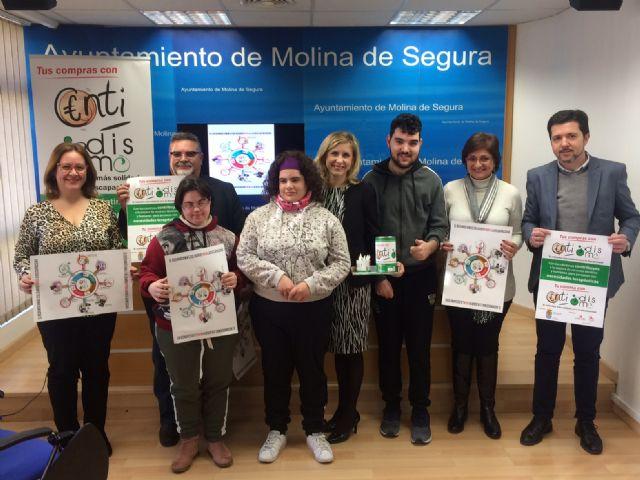 El Ayuntamiento de Molina de Segura y la asociación DISMO ponen en marcha la campaña Centidismo, el redondeo más solidario para la discapacidad - 1, Foto 1