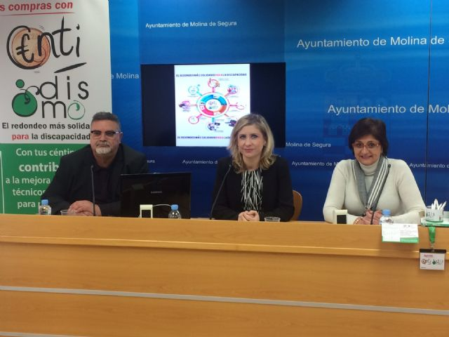 El Ayuntamiento de Molina de Segura y la asociación DISMO ponen en marcha la campaña Centidismo, el redondeo más solidario para la discapacidad - 2, Foto 2