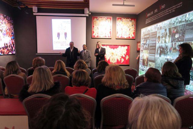 La Casa-Museo de los Caballos del Vino acoge una reunión para impulsar la cualificación profesional del sector del bordado - 2, Foto 2