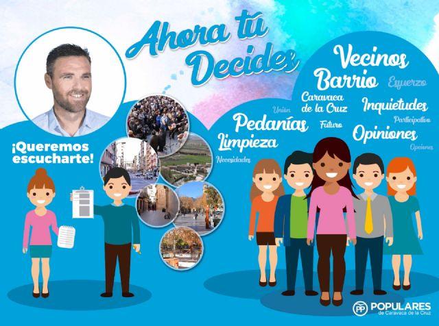 El PP recorrerá todo el municipio de Caravaca en una campaña de participación para plasmar las demandas de los vecinos en el programa electoral - 1, Foto 1