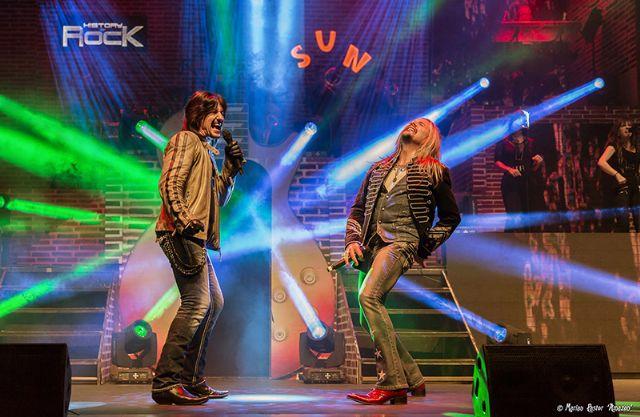 El espectáculo de rock más grande y más emocionante