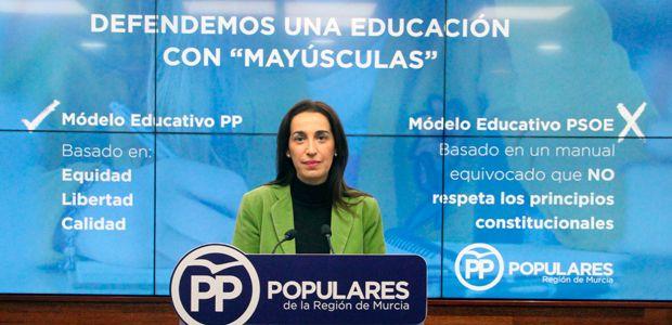El PP defiende la Educación con mayúsculas frente al PSOE de Sánchez que la torpedea con un modelo fracasado que limita la libertad de elección de los padres - 1, Foto 1