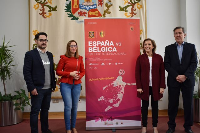 Cartagena acogerá el partido amistoso de fútbol entre las selecciones femeninas de España y Bélgica el 17 de enero - 1, Foto 1