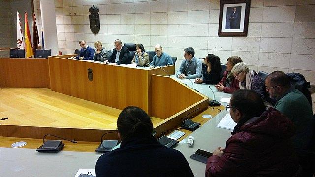 Ayer se celebró la primera Junta de Gobierno Local en el Ayuntamiento de Totana del año 2019, Foto 1