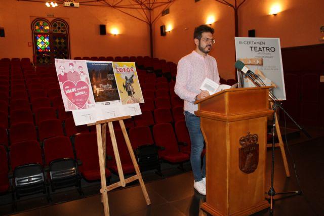 La III Muestra de Teatro Aficionado comienza el 18 de enero - 1, Foto 1