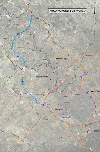 Fomento licitación el contrato de obras del tramo A del Arco Noroeste, Foto 1