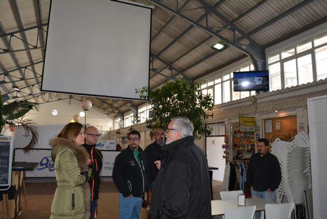 WIFI gratuito, megafonía e imagen, los nuevos atractivos de la Plaza de Abastos de Águilas - 1, Foto 1