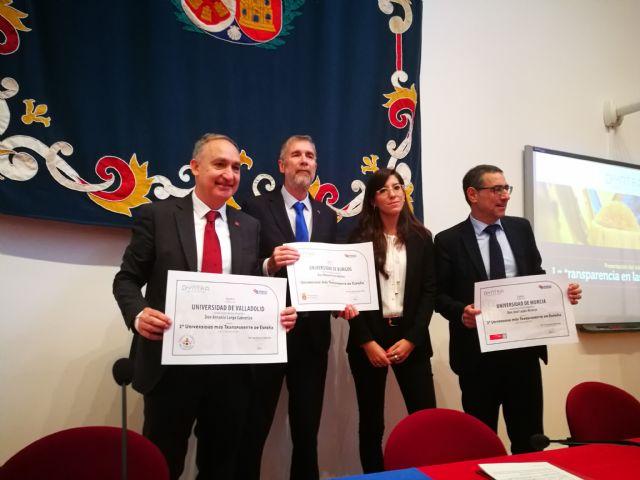 La Universidad de Murcia, líder en transparencia - 1, Foto 1