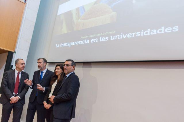 La Universidad de Murcia, líder en transparencia - 2, Foto 2