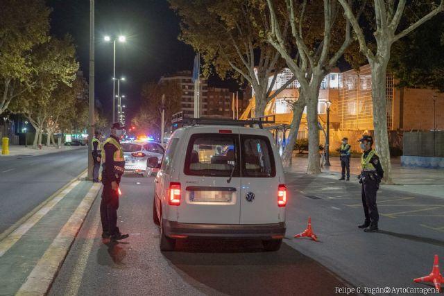 La Policía Local de Cartagena tramita 92 denuncias durante este fin de semana por incumplimiento de las medidas COVID - 1, Foto 1