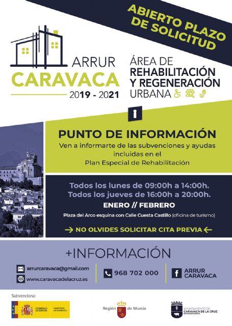 El Ayuntamiento de Caravaca tiene abierto el plazo para optar a las ayudas destinadas a la reforma de viviendas dentro del ´Plan Especial de Rehabilitación del Casco Histórico´ - 2, Foto 2