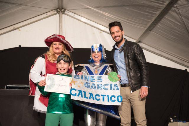 El AMPA del Colegio Ginés García y la Peña el Tolín ganan el primer premio del Carnaval Infantil, Foto 1