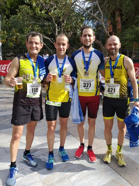 The CAT was present in the Half Marathon City of Orihuela- Regional Championship, Foto 2