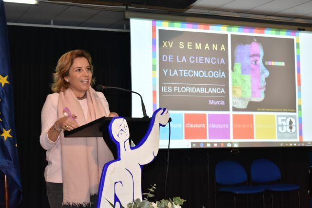 El instituto Floridablanca de Murcia celebra la XV Edición de la Semana de la Ciencia y la Tecnología - 1, Foto 1