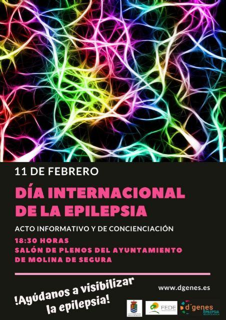 El Ayuntamiento de Molina de Segura acoge el acto del Día Internacional de la Epilepsia hoy lunes 11 de febrero - 1, Foto 1
