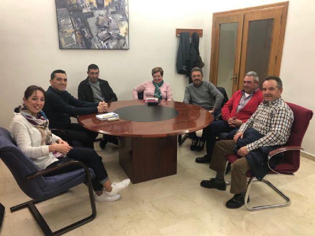 Reunión con la Junta Directiva de la Comunidad de Regantes el Pozo La Rafa- Atalayas - 1, Foto 1