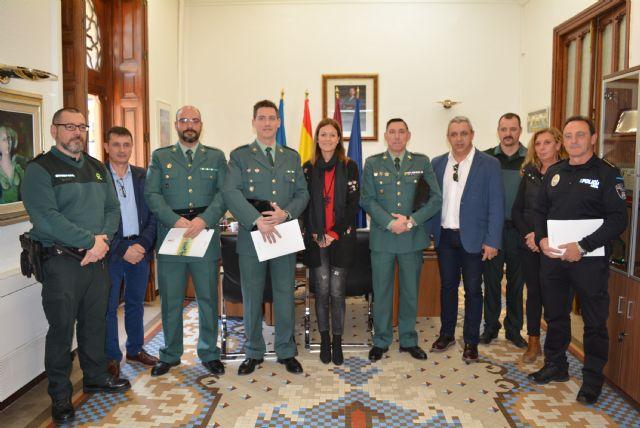 El Ayuntamiento reconoce la labor de Guardia Civil y Policía Local en la operación Fransena II - 1, Foto 1