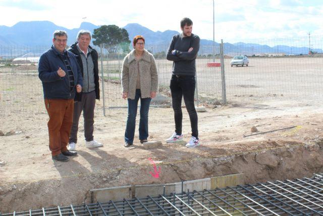 En marcha las obras del rocódromo y del cambio de iluminación del Polideportivo La Hoya - 2, Foto 2