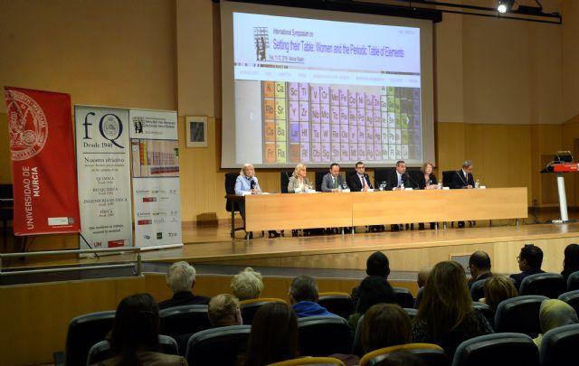 La Universidad de Murcia rinde tributo a las mujeres químicas y a su contribución a la tabla periódica - 2, Foto 2