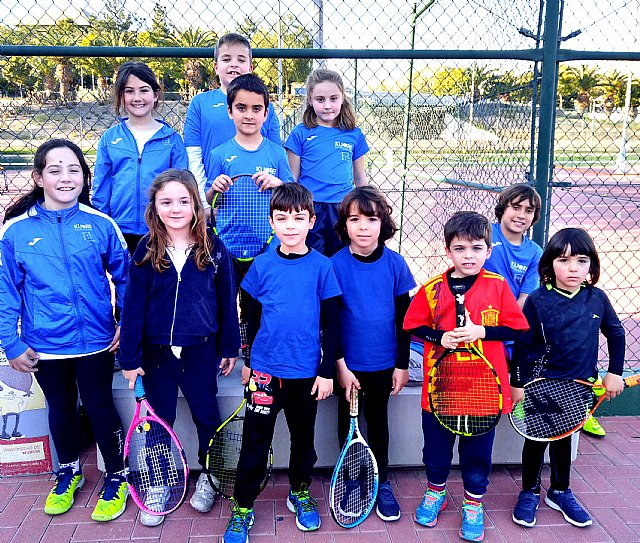 """The Kuore Totana Tennis School participated in a """"PEQUETENIS"""" day with the youngest of the school - 1"""