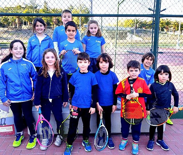 La Escuela de Tenis Kuore Totana participó en una jornada de PEQUETENIS con los más peques de la escuela - 1, Foto 1