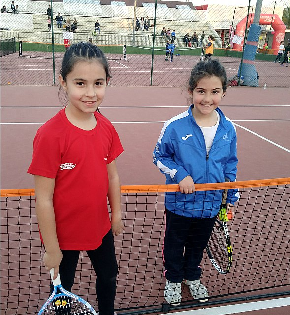 """The Kuore Totana Tennis School participated in a """"PEQUETENIS"""" day with the youngest of the school - 2"""