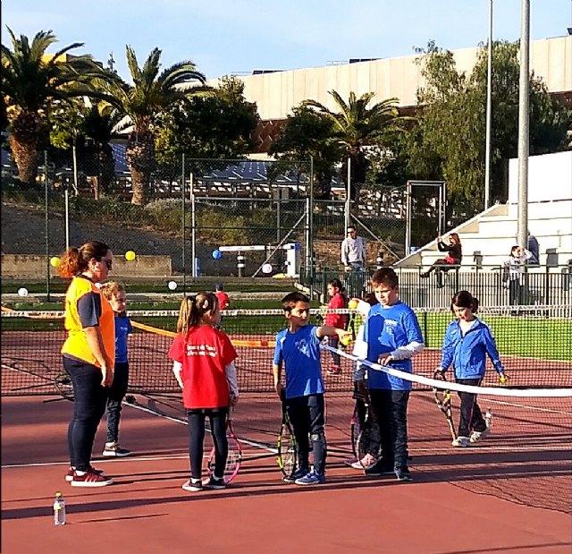La Escuela de Tenis Kuore Totana participó en una jornada de PEQUETENIS con los más peques de la escuela - 3, Foto 3