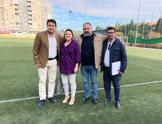 """Pedro Sabiote: """"El F. C. Cartagena merece más y mejores instalaciones"""" - 1, Foto 1"""