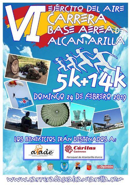 Este martes, presentación de la VI Carrera Base Aérea de Alcantarilla - 1, Foto 1
