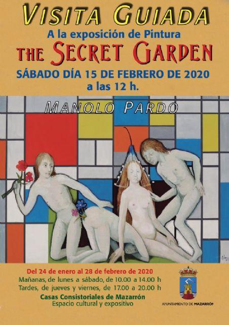 Manolo Pardo realiza una visita guiada a su exposición The secret garden este sábado 15 - 1, Foto 1