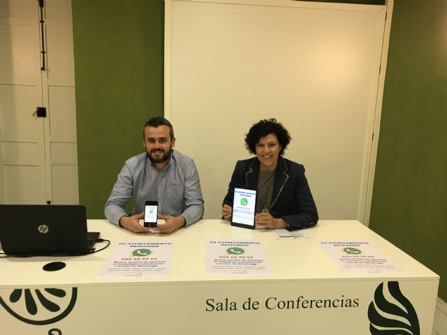 Los ciudadanos de Puerto Lumbreras podrán comunicar incidencias y averías a través de Whatsapp - 2, Foto 2