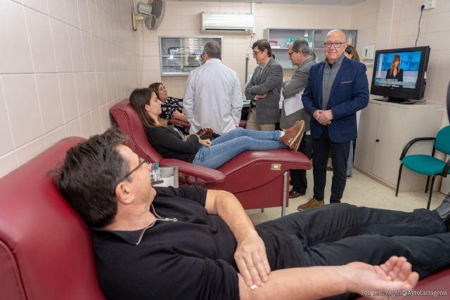El Servicio de Hemodonación de Cartagena captó más 1.500 nuevos donantes y realizó más de 6.200 donaciones durante el 2019 - 1, Foto 1