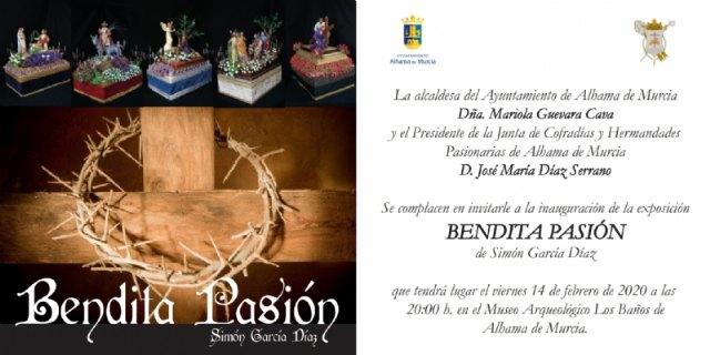 Simón García inaugura la exposición Bendita Pasión este viernes en el Museo Los Baños - 1, Foto 1