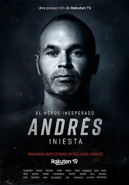 Rakuten estrenará su nuevo documental original, Andrés Iniesta, El héroe inesperado, en Rakuten TV - 1, Foto 1