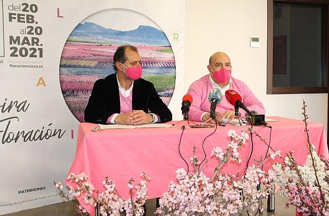 El Ayuntamiento de Cieza recurrirá a las redes sociales para mantener viva la marca Floración - 1, Foto 1