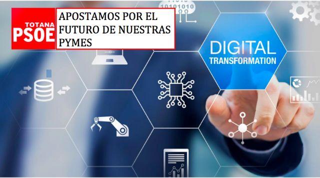 [Se aprueba la propuesta del PSOE para la creación de un plan de apoyo y financiación para la digitalización de PYMES de Totana