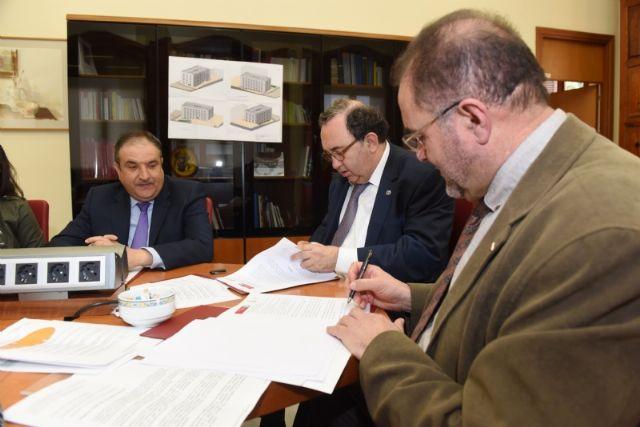 Prorrogan el convenio de colaboración con la UMU para el mantenimiento de la sede permanente de extensión universitaria en Totana - 2, Foto 2