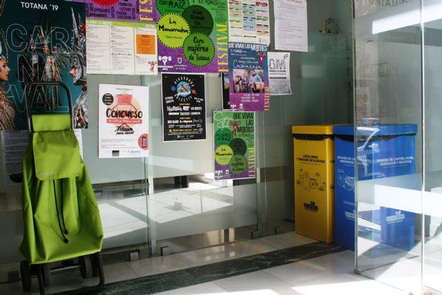 Implantan la recogida selectiva de residuos de envases ligeros, papel y cartón en las dependencias municipales, Foto 2