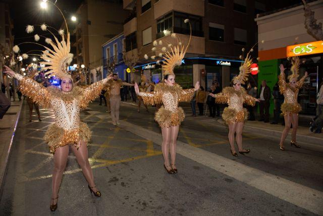 Te lo digo bailando de Totana obtiene el primer premio en el desfile de peñas visitantes de Mazarrón - 2, Foto 2