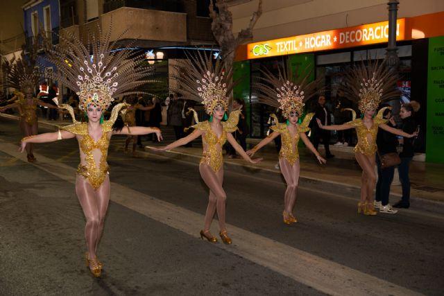 Te lo digo bailando de Totana obtiene el primer premio en el desfile de peñas visitantes de Mazarrón - 4, Foto 4
