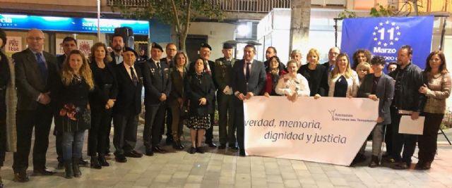 La consejera de Familia e Igualdad de Oportunidades participa en el homenaje a las víctimas del terrorismo en Alcantarilla - 1, Foto 1